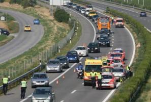 Interception d'un véhicule en contresens sur l'autoroute